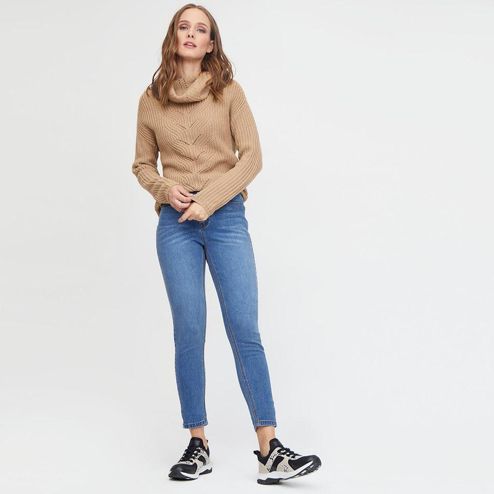 Jeans Mujer Tiro Alto Skinny Push up Kimera image number 1.0