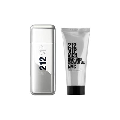 Perfume 212 Vip Men + Sg Tb Carolina Herrera / 100 ml / Edt