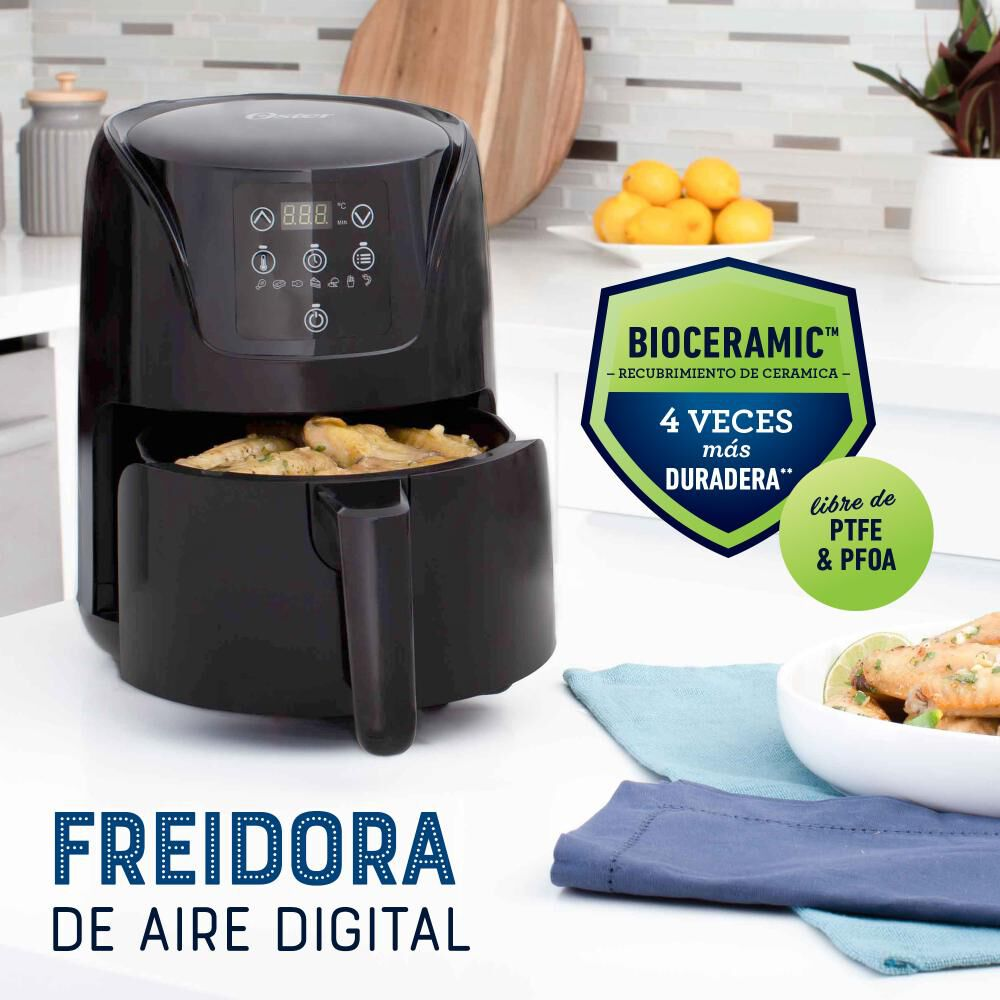 Freidora De Aire Oster CKSTAF18D / 1.8 Litros image number 2.0