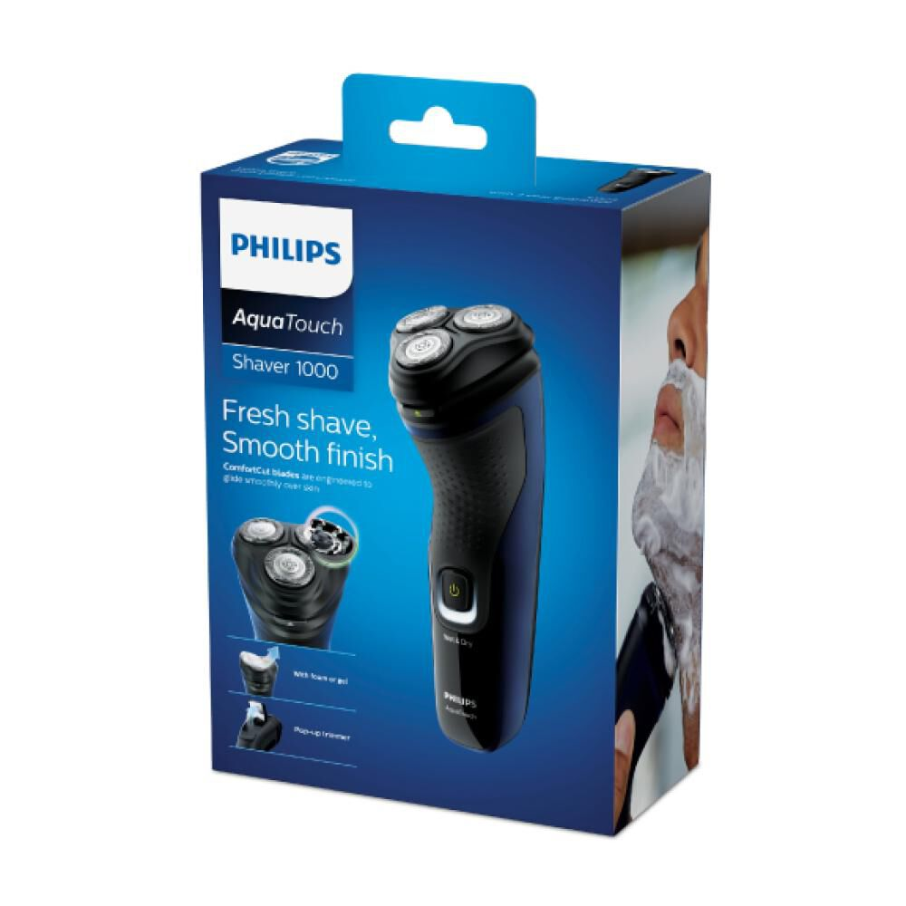 Maquina De Afeitar Philips Aquatouch 1000 image number 4.0