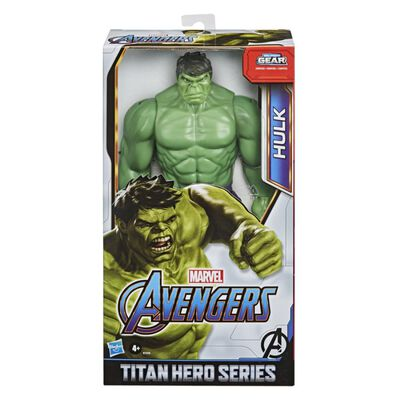 Figura De Accion Avenger Titan Hero Movie Hulk