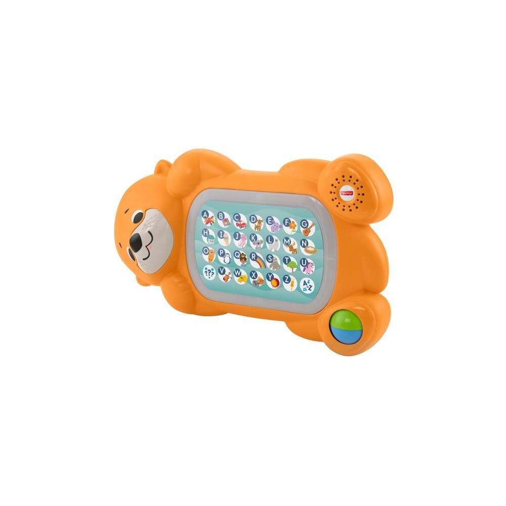 Peluche Didactico Fisher Price Nutria Abc image number 1.0