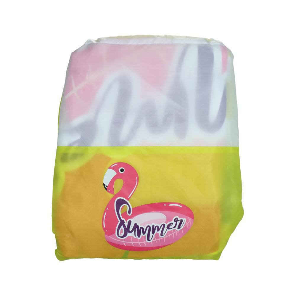 Toalla Playa Con Bolso Casaideal Flamingo image number 0.0