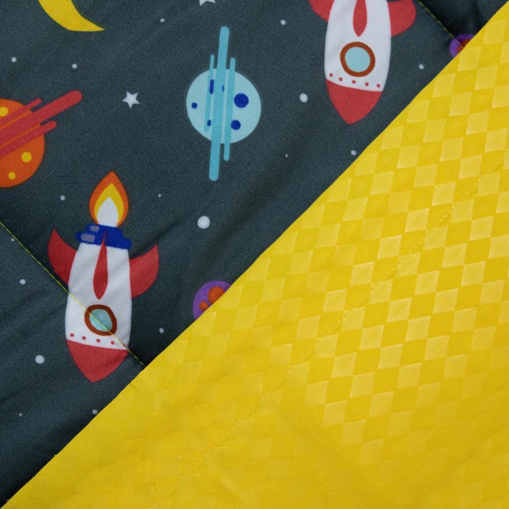 Set Plumón + Juego De Sábanas Casaideal Kids Universo / 1.5 Plazas image number 2.0
