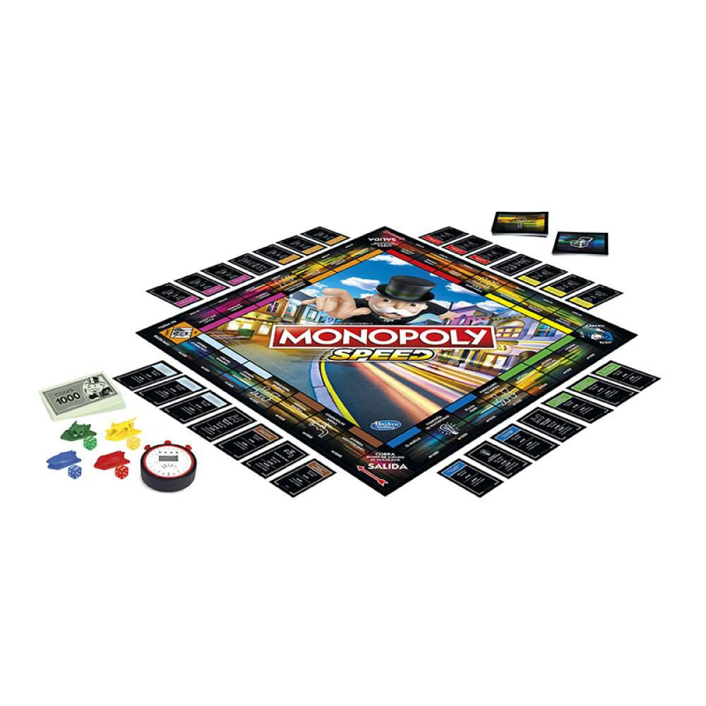 Juegos Familiares Monopoly Speed image number 2.0