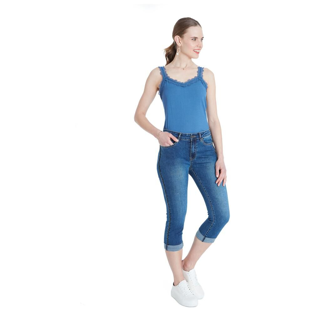 Jeans Mujer Curvi image number 4.0