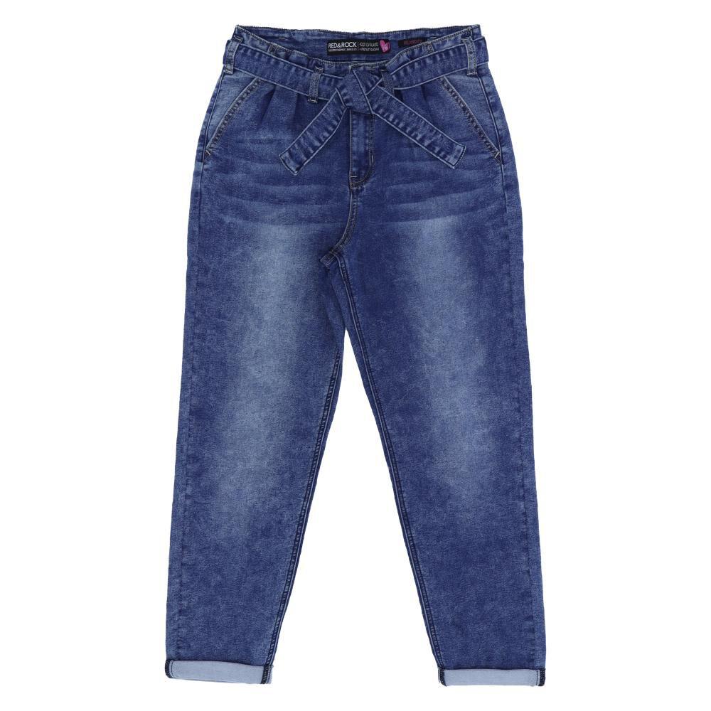 Jeans Niña Teen Red - Rock image number 0.0