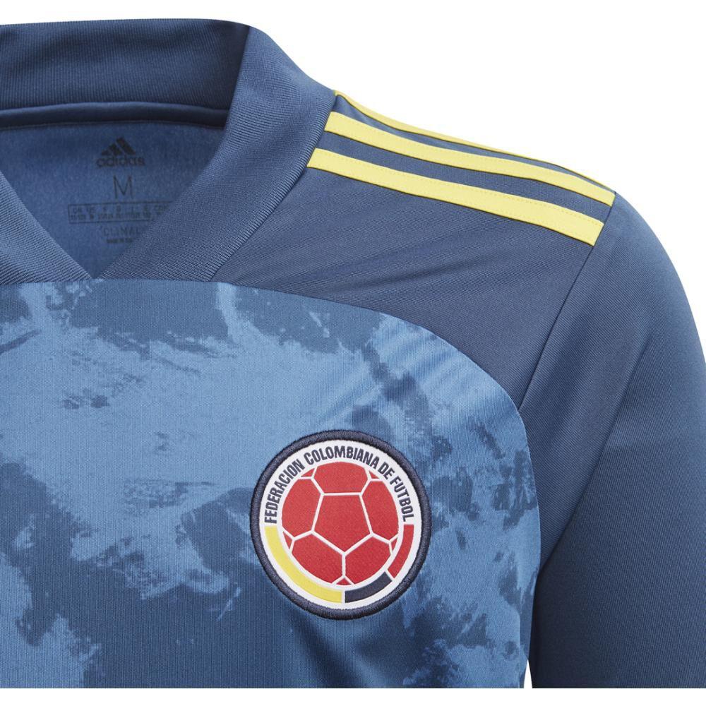 Camiseta De Futbol Hombre Adidas Segunda Equipación Colombia image number 3.0