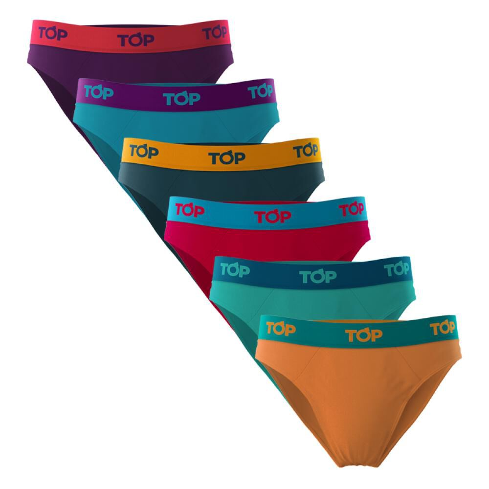 Pack Slips Hombre Top / 6 Unidades image number 0.0