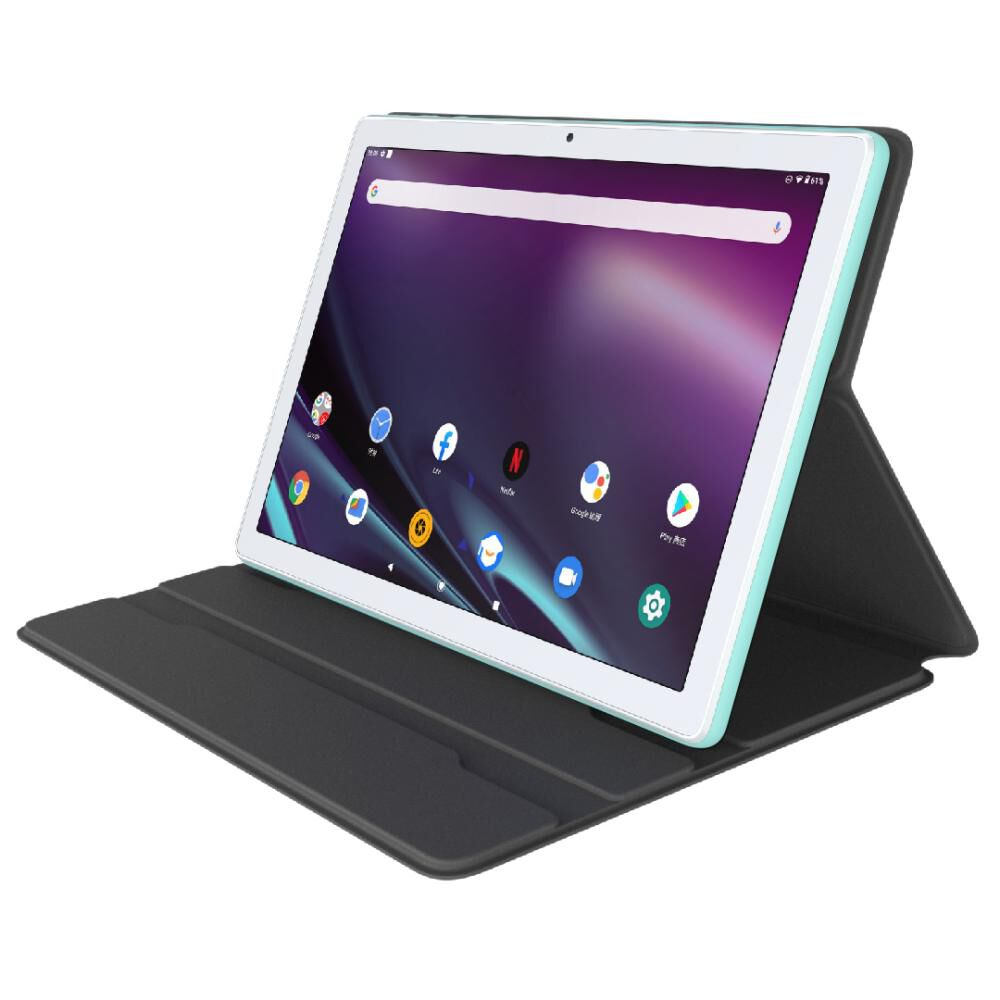"Tablet Tcl Tab 10 Neo / Cream Mint / 2 Gb Ram / 32 Gb / 10 "" image number 2.0"