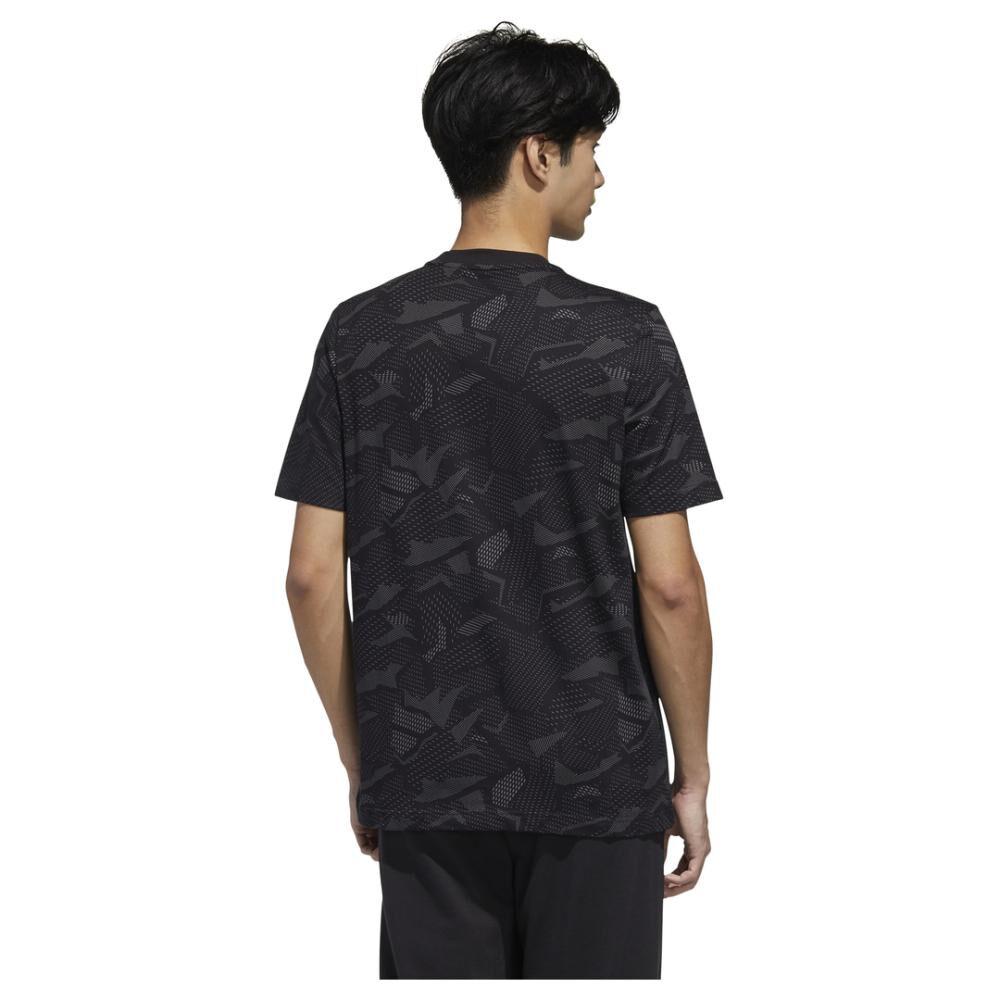 Polera Hombre Adidas Essentials Aop T-shirt image number 3.0