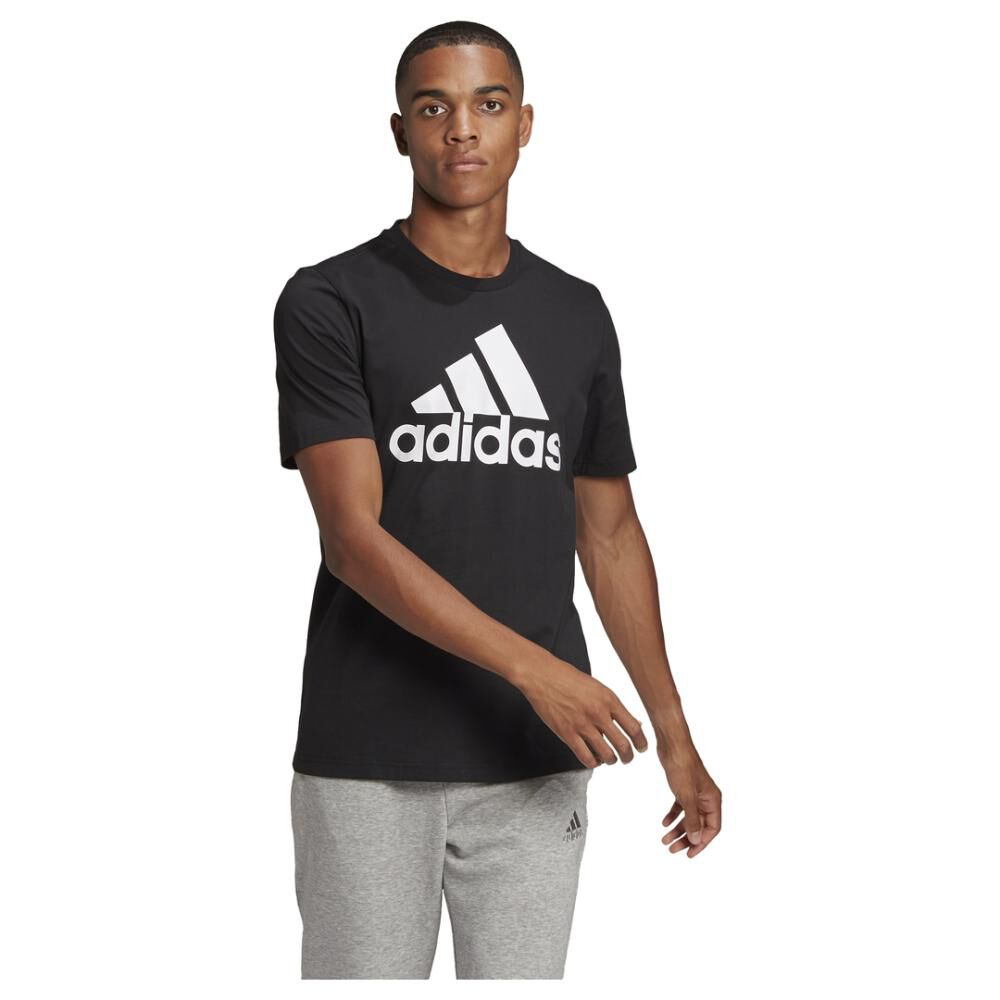 Polera Hombre Adidas Essentials Big Logo image number 0.0