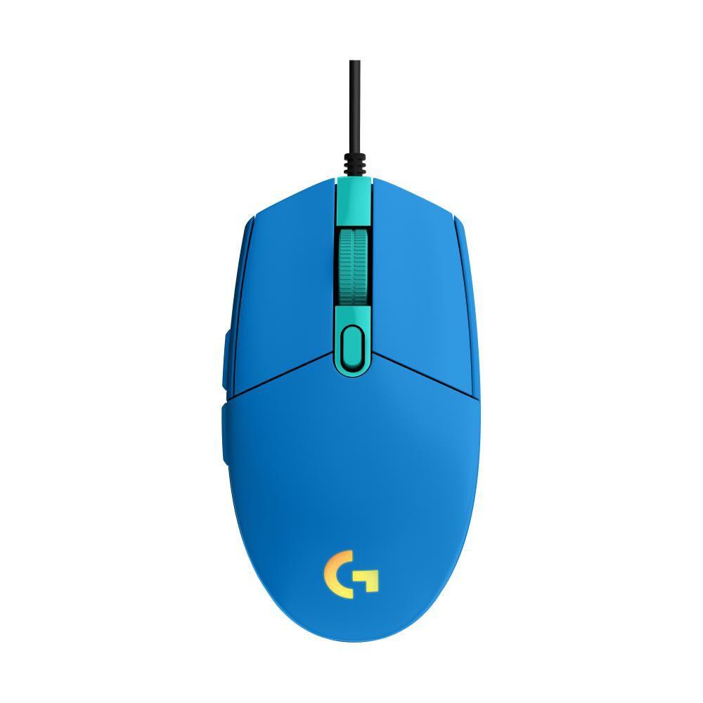 Mouse Gamer Logitech G203 Blue image number 0.0