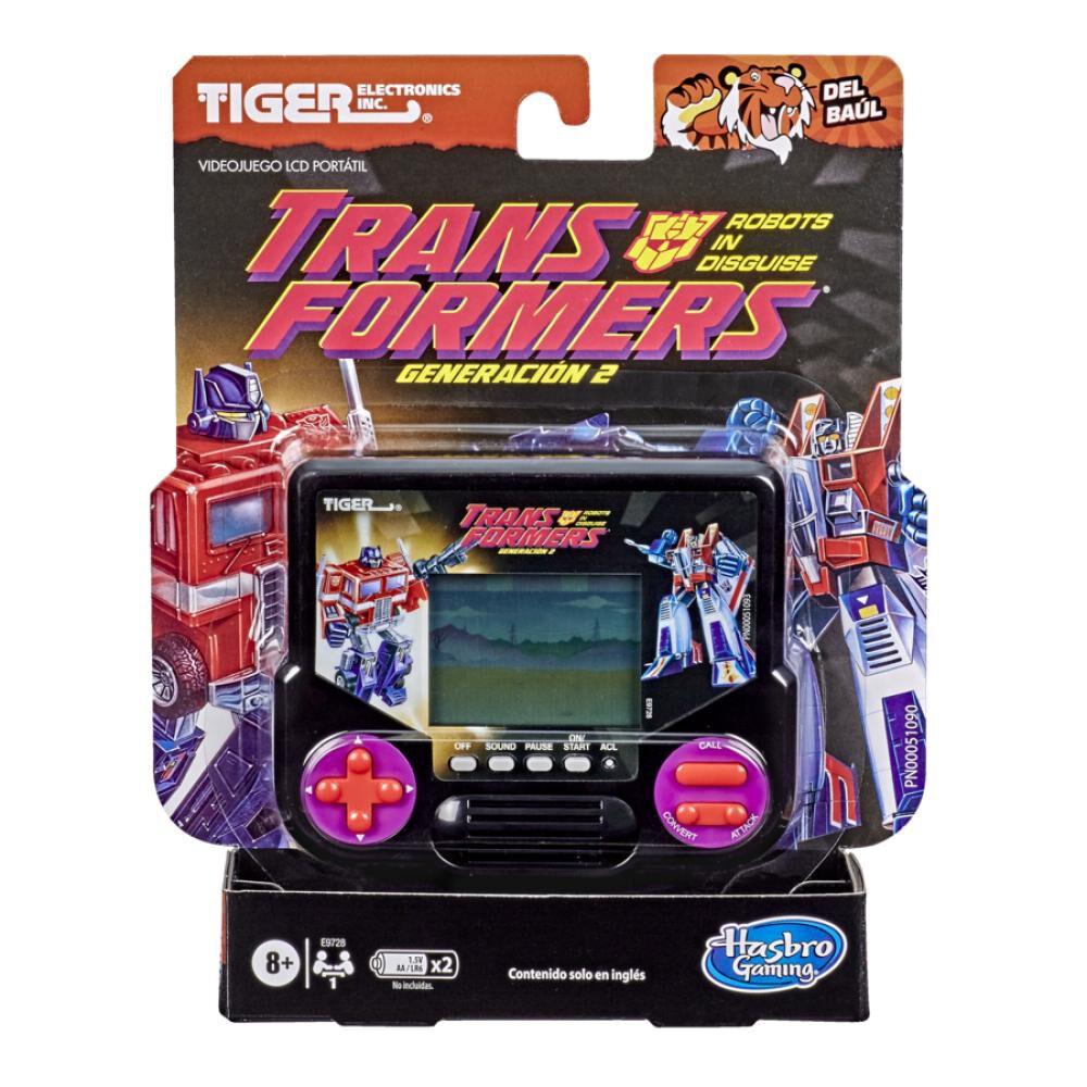 Juego Retro Gaming Tiger Electronics Transformers image number 2.0