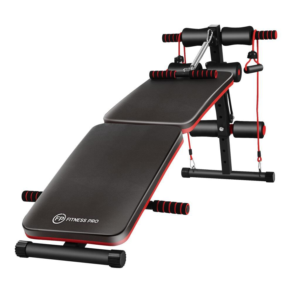 Banca Abdominal Fitness Pro P Ab05-06zd image number 0.0