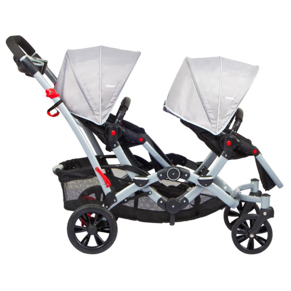 Coches Duo Ride Gery + 2 Sillas Y 2 Bases Infanti image number 5.0