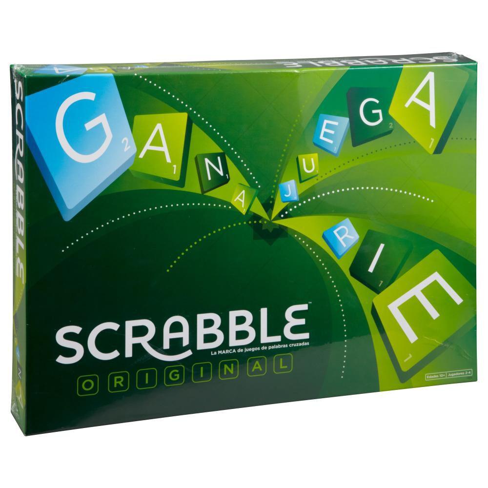 Juegos Familiares Mattel Scrabble Original image number 0.0