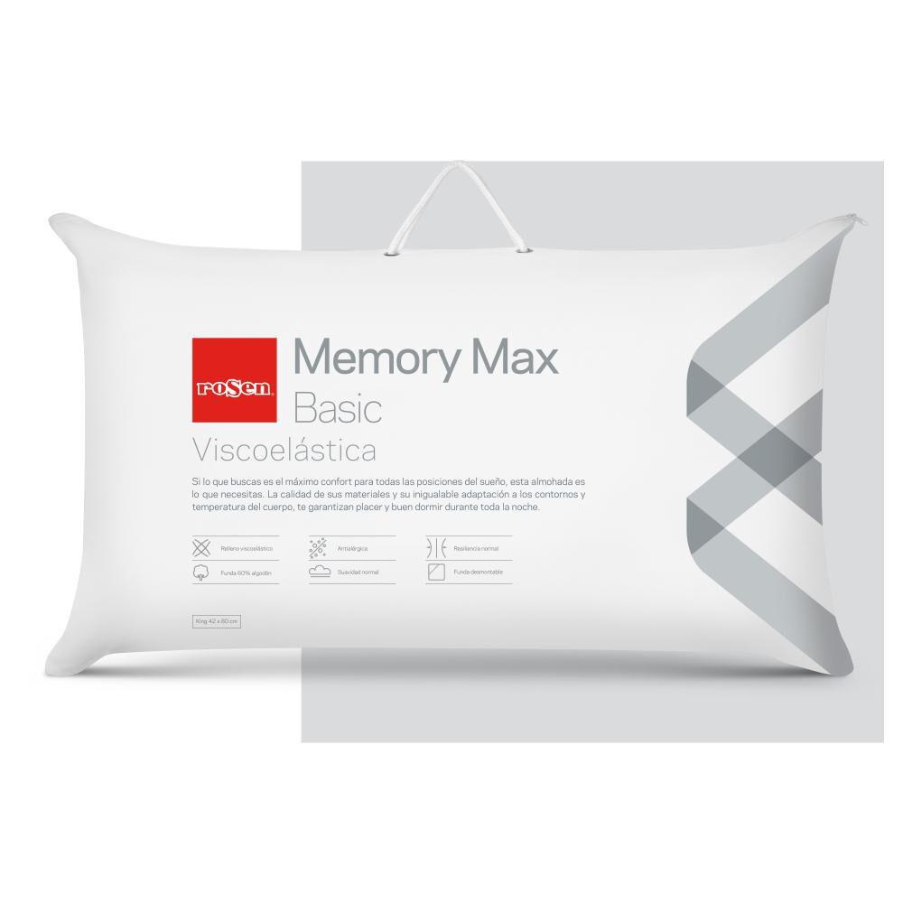 Almohada Rosen Memory Max Basic image number 0.0