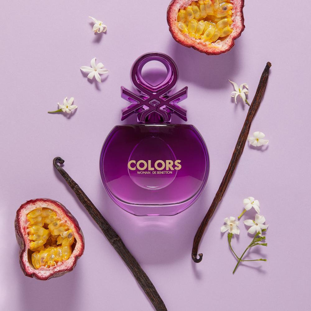 Perfume Colors Purple Woman Benetton / 80 Ml / Edt image number 2.0
