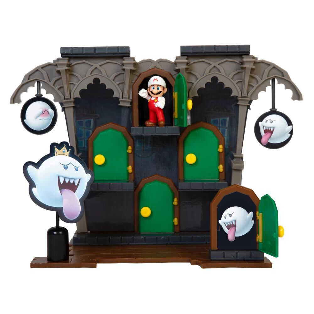 Figura Coleccionable Nintendo Playset Super Mario Dlx Boo Mansion image number 0.0