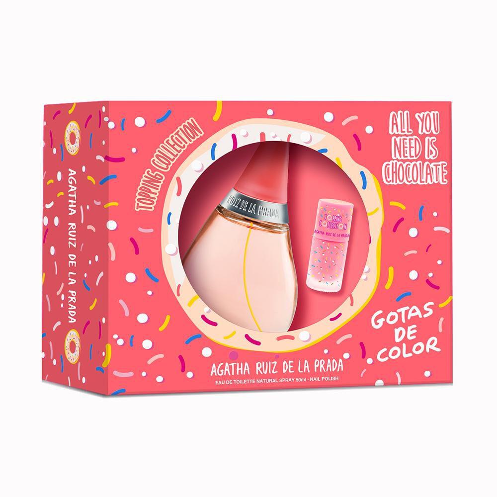 Perfume Gotas De Color Agatha Ruiz / 50 Ml / Edt + Barniz De Uñas image number 0.0