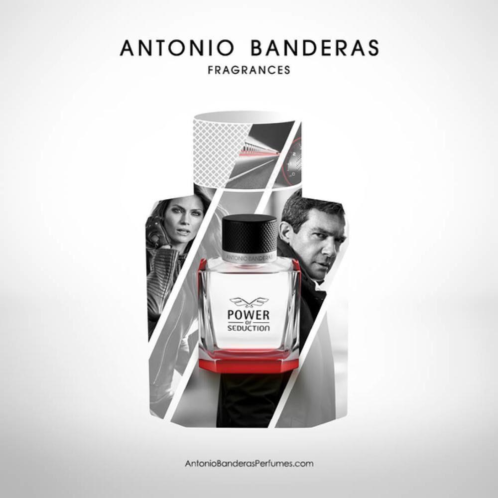 Perfume Power Of Seduction Antonio Bandera / 50 Ml / Eau De Toillete + Gel De Ducha image number 1.0