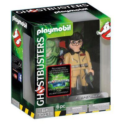 Figura De Película Playmobil Ghostbusters E. Spengler