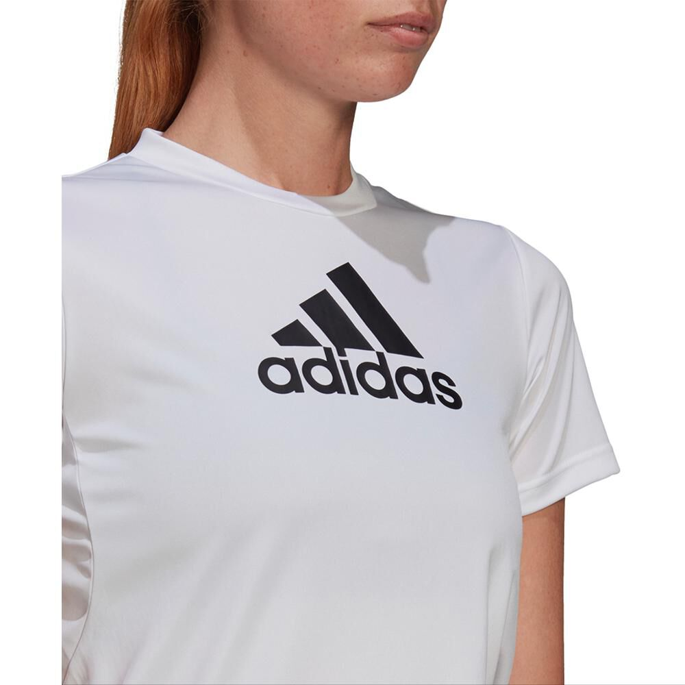 Polera Mujer Adidas Logo Sport T-shirt image number 3.0