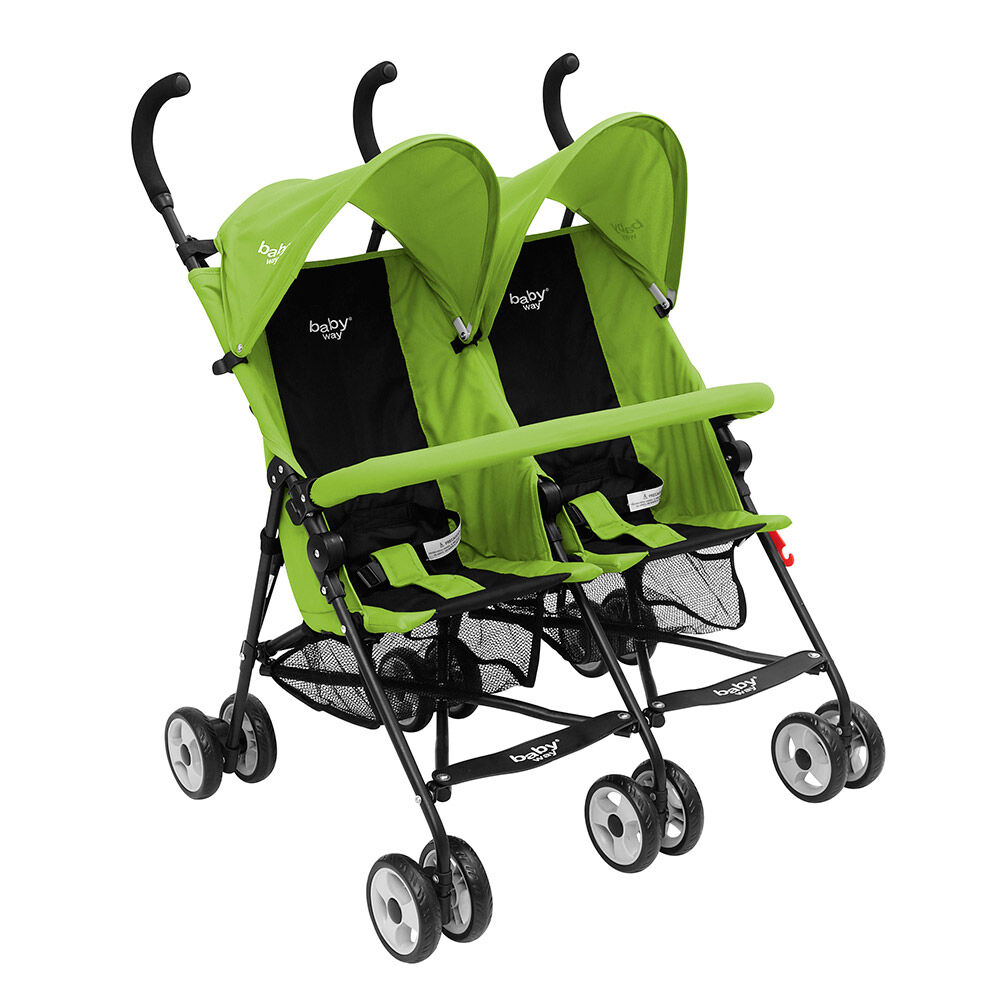 Coche Paraguas Doble Baby Way Bw-120G17 image number 0.0