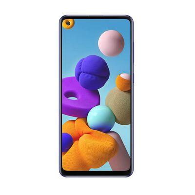 Smartphone Samsung A21s Azul / 128 Gb / Liberado