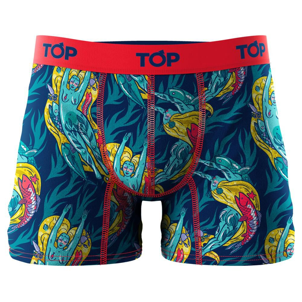 Pack Boxer Top Mitos / 4 Unidades image number 1.0