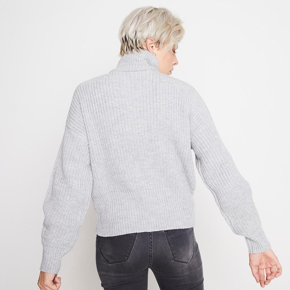 Sweater Tejido Cuello Alto Mujer Rolly Go image number 2.0