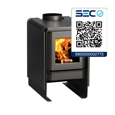 Estufa Leña Bosca Sello Eco360