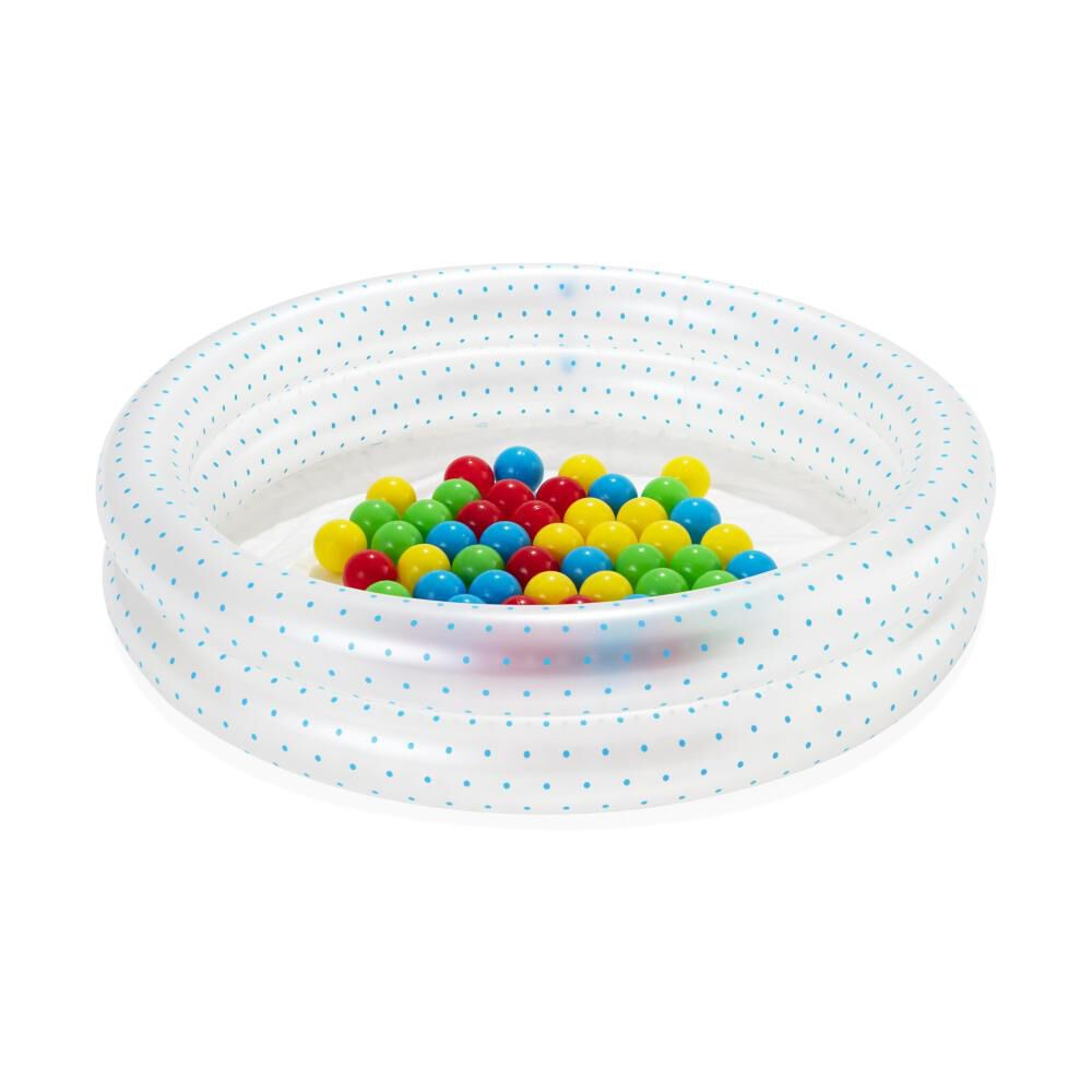 Piscina Inflable 2 Anillos Bestway Con Pelotas image number 0.0