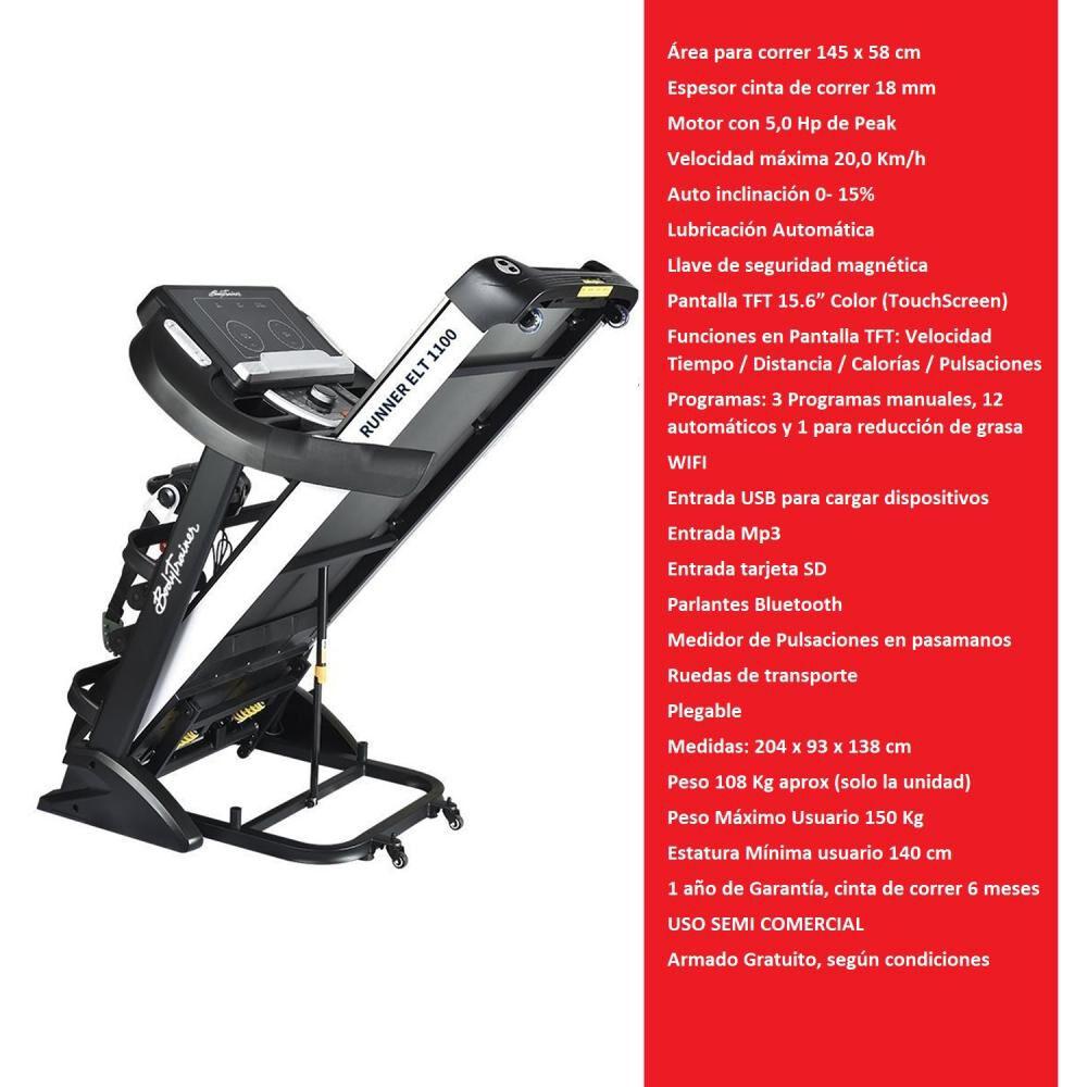 Trotadora Bodytrainer Runner Elt 1100 image number 1.0
