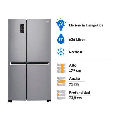 Refrigerador Lg Gs65Mpp1 / No Frost / 625 Litros