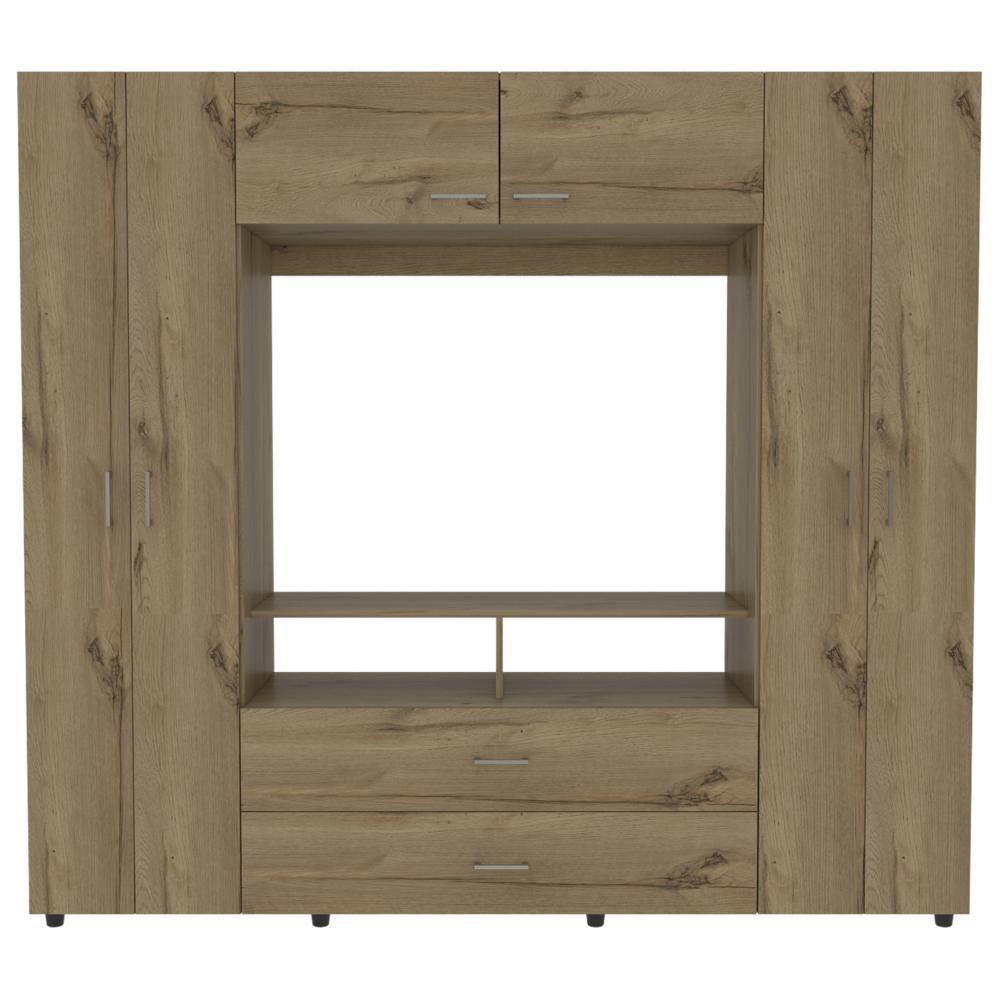 Closet Tuhome Z-200/ 6 Puertas/ 2 Cajones image number 3.0