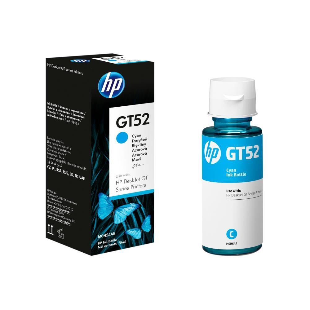 Tinta Hp Gt52 Cyan Ink Bottle image number 0.0