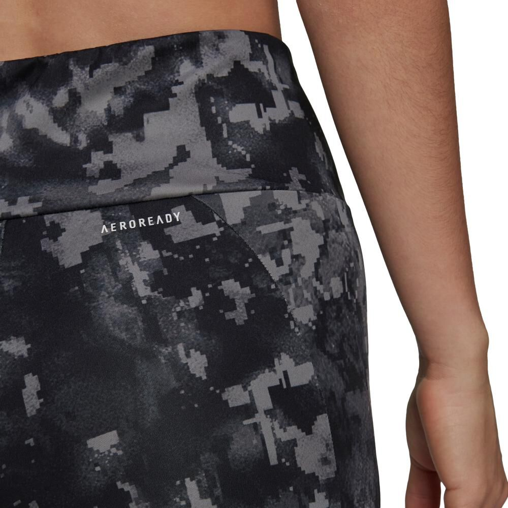 Calza Mujer Adidas Print 7/8 High Rise image number 3.0