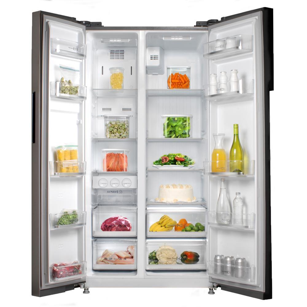 Refrigerador Side By Side Midea MRSBS-5300G689WE / No Frost / 527 Litros image number 3.0