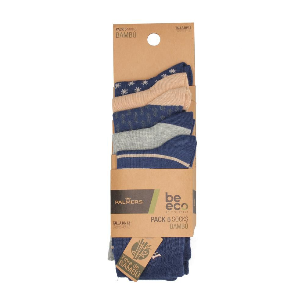 Calcetines Unisex Palmers / 5 Pares image number 0.0