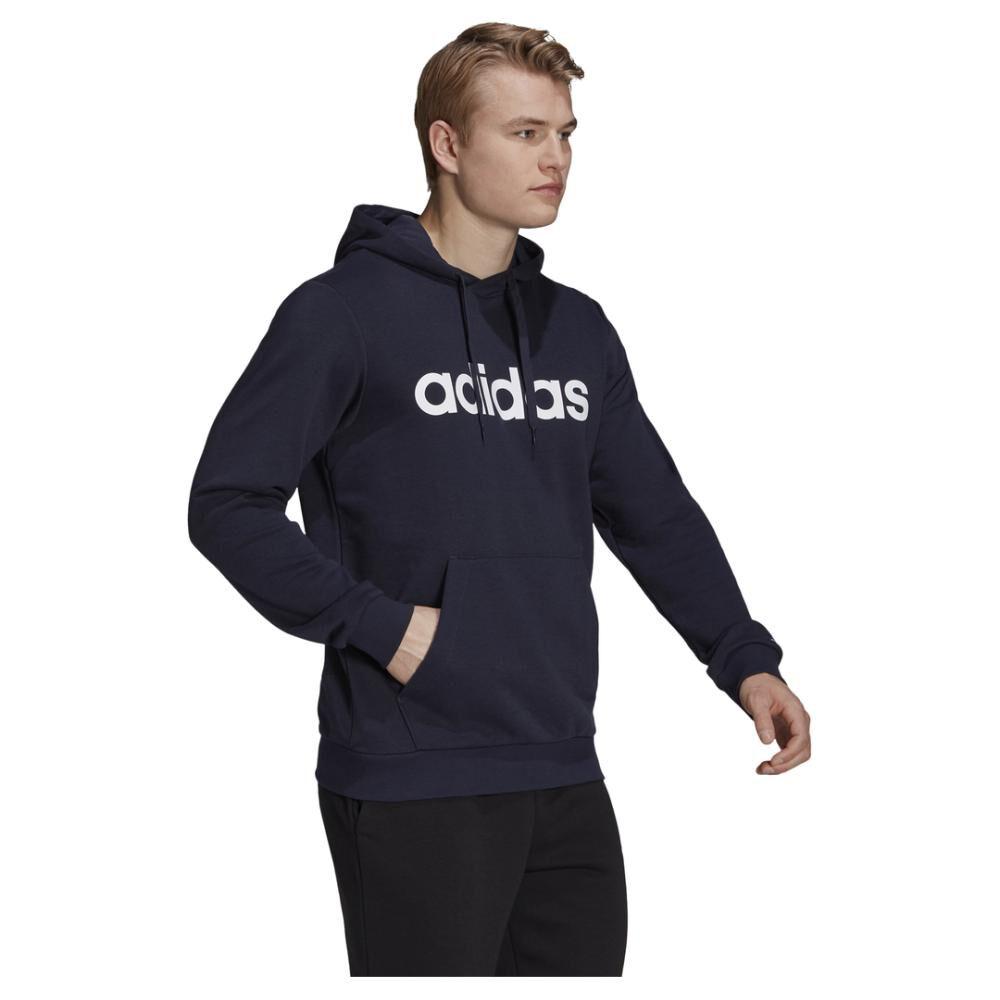 Polerón Deportivo Hombre Adidas Essentials Hoodie image number 1.0