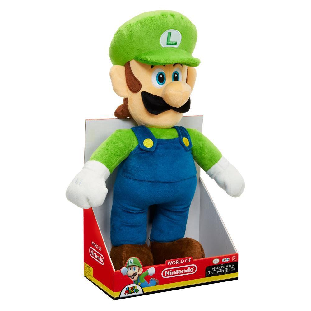 Peluche Nintendo Jumbo Luigi Basico image number 2.0