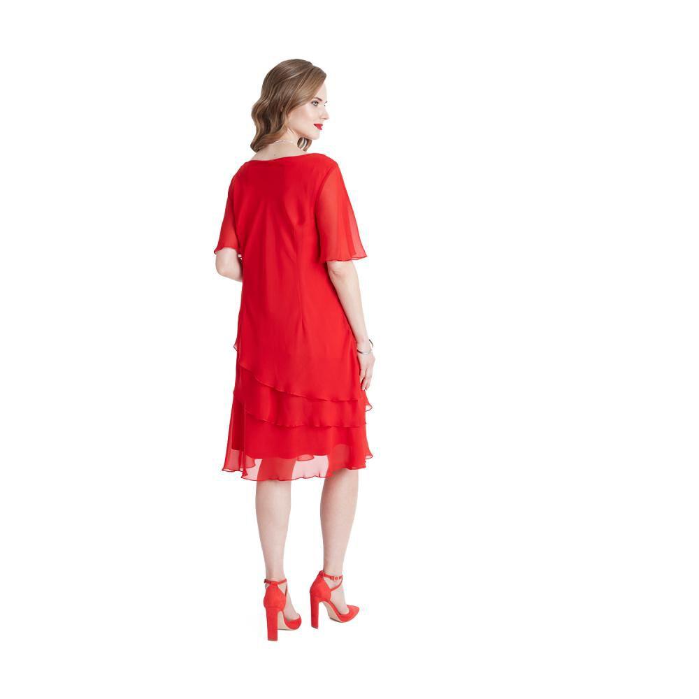 Vestido De Fiesta Mujer Lorenzo Di Pontti image number 1.0