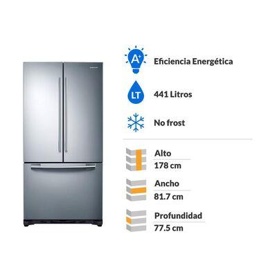 Refrigerador Samsung No Frost, French Door Rf62hesl 441 Litros