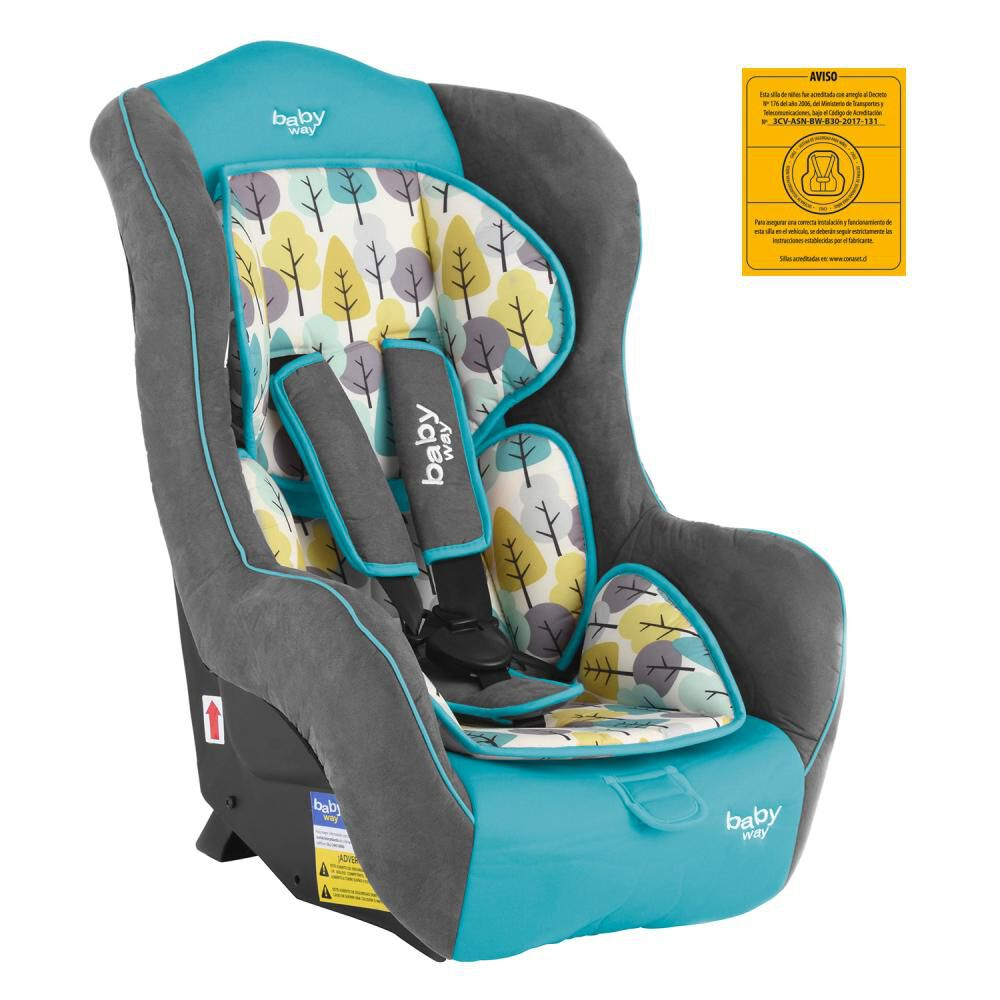 Silla Auto Baby Way Bw-744T18 image number 0.0