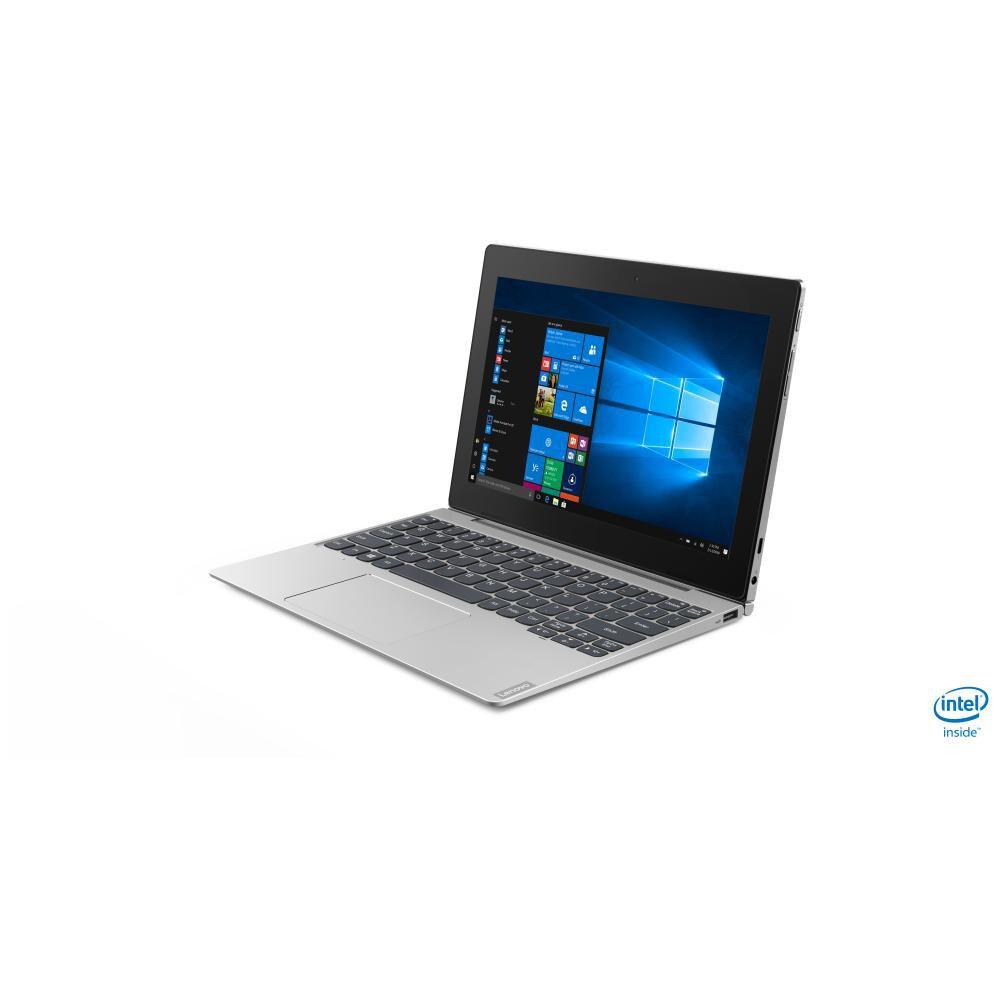 "Notebook Lenovo Ideapad D330 / Mineral Grey / Intel Celeron / 4 Gb Ram / Integrated Intel Uhd Graphics 600 / 64 Gb Ssd / 10.1"" image number 1.0"