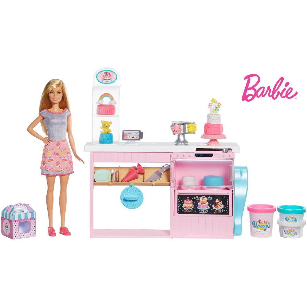 Muñeca Barbie Chef De Pasteles image number 0.0