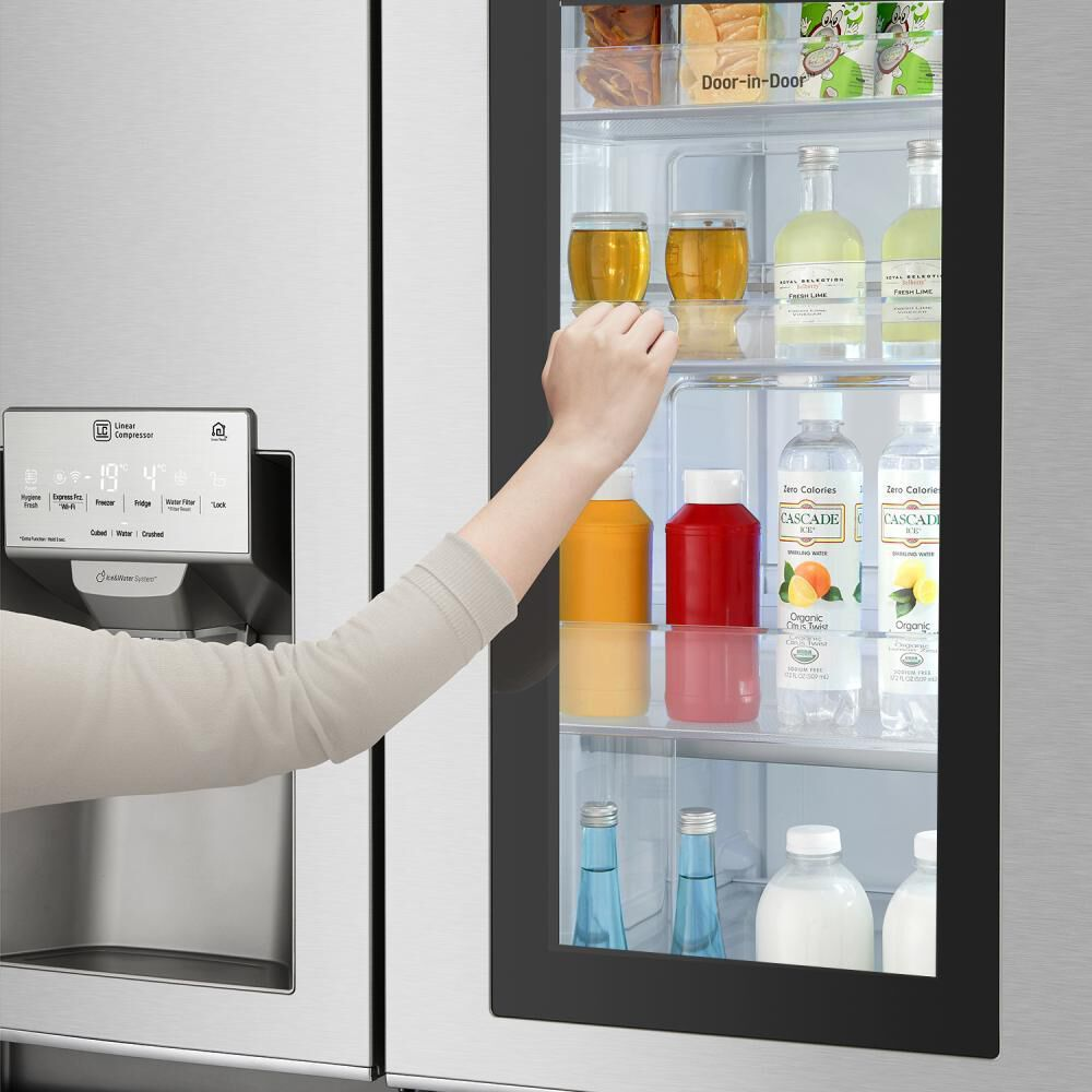 Refrigerador Side by Side LG LS64SXP / No Frost / 592 Litros image number 6.0