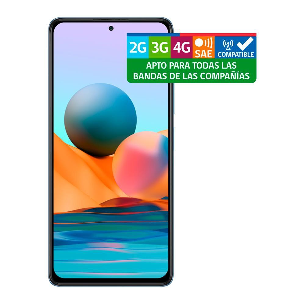 Smartphone Xiaomi Redmi Note 10 Pro Azul / 128 Gb / Liberado image number 10.0